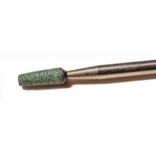 GF649 Τροχολιθάκι πράσινο κωνικό κοφτό
