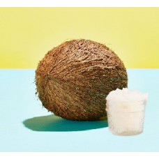 Scrub καρύδα με λευκή ζάχαρη
